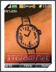 Nokia S40 themes, Nokia asha 206 themes on Pinterest   Mobiles, Clock ...