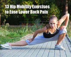 Experiencing lower back pain? Get these exercises to help relieve some pain!