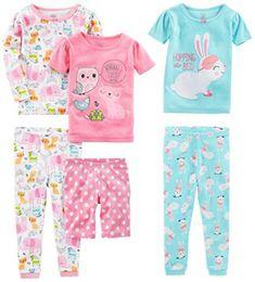 Simple-Joys-by-Carters-Girls-6-Piece-Snug-Fit-Cotton-Pajama-Set
