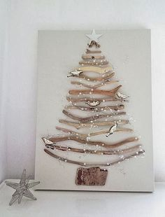 Vamos a compartir algunas ideas #DIY  navideñas para poder ahorrar y decorar nuestro hogar como es este original arbolito navideño - Decoracion Diy-Manualidades - Comunidad - Google+