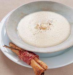 Parsnip & Gorgonzola Soup