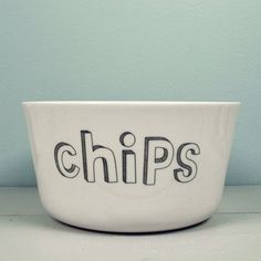 chips bowl from Liebe