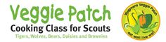 """Wegmans Veggie Patch -- cooking class for scouts -- Brownie Girl Scouts will fulfill many of the requirements necessary to earn their """"Make it, Eat it"""" Try It."""