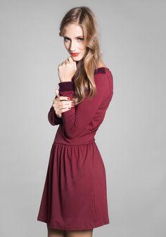 Knielange Kleider - Louzoù KLEID ´Nanette´ - ein Designerstück von Louzou bei DaWanda