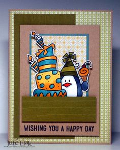 Happy Happy Day by Humma - Cards and Paper Crafts at Splitcoaststampers  Bugaboo stamp