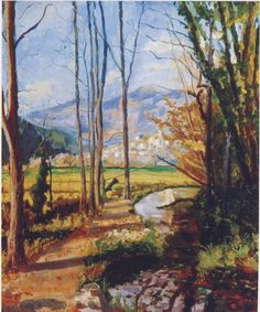 """View on the River Var,"" by Winston Churchill"