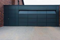 Garage Doors – Types, Considerations, And Ideas – The Homeward View Contemporary Garage Doors, Modern Garage Doors, Garage Door Styles, Garage Door Design, Window Shutters Exterior, Wood Exterior Door, Arched Doors, The Doors, House Doors
