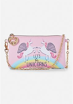 Let's Be Unicorns Tech Purse