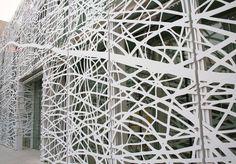 bardage de façade métallique en aluminium ART WALL  Zahner