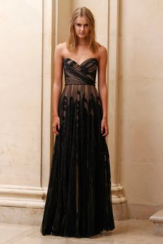 J. Mendel Pre-Fall 2011 Collection Slideshow on Style.com