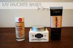 Makeup Monday: My Favorite Bases for Spring