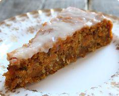 veganer Möhren-Kuchen  | The Vegetarian Diaries