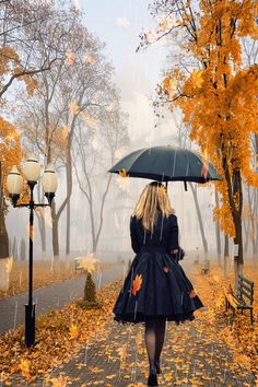 A rainy fall day... my favorite time of year. I love the rain. I love how it…