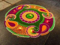 Kolam by Shanti