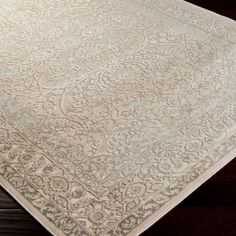 Kathleen Rug. 5.2 X 7.6. Art silk & chenille. Made in Turkey. $158.95. Joss & Main.