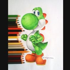 Amazing Drawings, Realistic Drawings, Colorful Drawings, Cool Drawings, Disney Drawings, Cartoon Drawings, Cartoon Art, Color Pencil Art, Pen Art