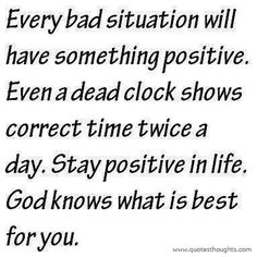 Stay Positive In Life Inspirational Quote See many other positivity inspirational quotes here Enjoy Stay Positive Quotes, Staying Positive, Positive Thoughts, Random Thoughts, Positive Living, Life Thoughts, Positive Mindset, Negative Thoughts, Positive Attitude