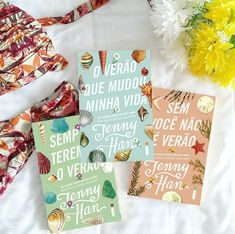 romance trilogy the summer that changed my life without you is not summer we will always have the su Cool Books, I Love Books, Books To Read, My Books, Book Club Books, Book Lists, Jenny Han Books, Book Instagram, Romance Quotes