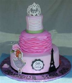 fancy nancy cake -- This is the one!!