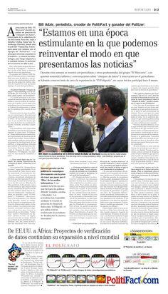 Periodismo. Proyectos de verificación de datos (El Mercurio -  23.03.14).