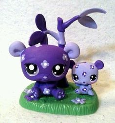 Pat & Penny Panda Lot * OOAK Custom Littlest Pet Shop