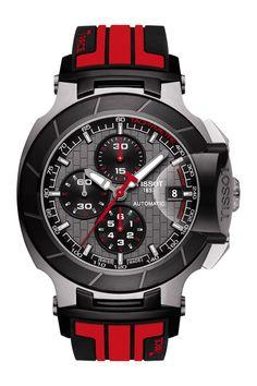 Men s T-Race Moto GP Automatic Watch Acessórios Masculinos, Pulseiras,  Produtividade, Produtos 40e364f419