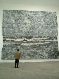 """Art is longing. You never arrive but you keep going in the hope that you will."" Anselm Kiefer [b German painter Anselm Kiefer, Abstract Landscape, Abstract Art, Musée Rodin, Contemporary Paintings, Oeuvre D'art, Installation Art, Painting Inspiration, Art History"
