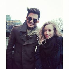 01/28/15 - From outlawoflambert's IG page ~  Can' t believe. He made my day... Again! Thank you @ Adamlambert !