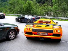 RUNNING WITH THE LAMBOS, THROUGH THE SWISS ALP MTS.
