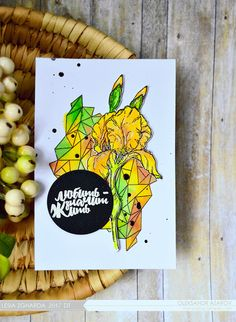 """Завдання квітня """"Зелений і жовтий кольори + квіти"""" Натхнення з дизайнерами - Lesia Zgharda"""