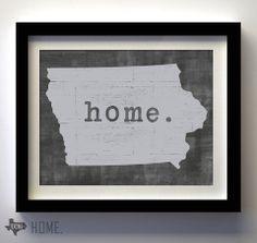 Iowa State Shape : Home.