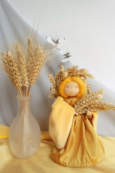 We need one of these. Lady Summer Demeter for the Nature Table by FamilleVerte on Etsy