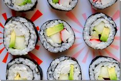 Learn how to make California Rolls at home with this step-by-step tutorial and California roll recipe! How To Make California Rolls, California Roll Recipes, Tasty, Yummy Food, Yummy Mummy, Sushi Recipes, Recipies, How To Make Sushi, Homemade Sushi