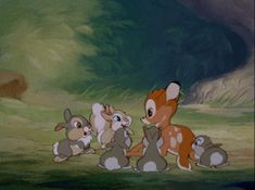 bambi, disney, and cute image Bambi Disney, Disney Pixar, Old Disney, Disney Fan Art, Disney And Dreamworks, Disney Cartoons, Disney Love, Walt Disney Animation, Christopher Robin