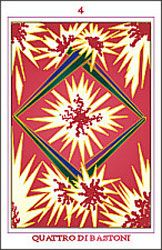 four of wands relationship