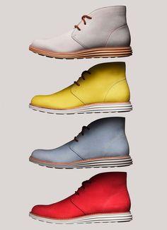 Zapatos con suela de zapatillas