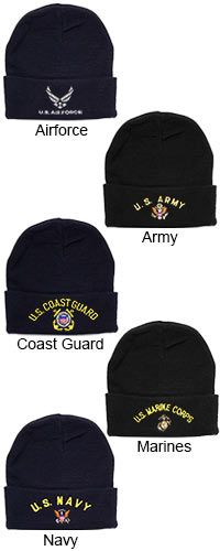 b496ab00708 U.S. Military Knit Hat at The Veterans Site Military Personnel