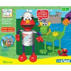 Sesame Street Elmo's Dragon Adventure Building Set #Kids #Kid #Child #Children #Wish #Toys #Christmas #Wishlist #Children #Building #Toy #Gift #Gifts #Present #Presents