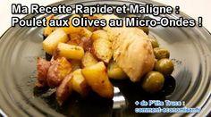 Ma recette maligne et rapide du poulet aux olives sera dans votre assiette, grâce à sa cuisson spéciale micro-ondes, en moins de 30 minutes !  Découvrez l'astuce ici : http://www.comment-economiser.fr/poulet-olives-micro-ondes.html?utm_content=bufferdd755&utm_medium=social&utm_source=pinterest.com&utm_campaign=buffer