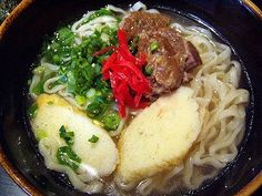 Okinawan Soba.. one of my favorite foods on the planet!!