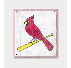 St Louis Cardinals Logo   Distressed Wood Sign   Cardinals Rustic Decor    Fathers Day Gift For Dad   Man Cave Boys Room Sports Bar Decor