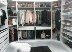 Ideas for master closet corner drawers
