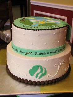 Cake Ideas for Girl Scout Bridging Party Girl Scout Gold Award, Girl Scout Law, Girl Scouts, Girl Scout Bridging, Eagle Scout Ceremony, Cupcake Cakes, Cupcake Ideas, Cupcakes, Bronze Award