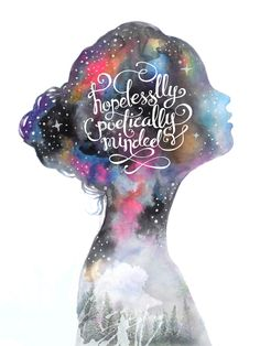 Hopelessly Poetically Minded by Galilee Anne Morallos