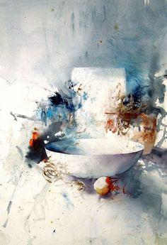 Lars Eje Larsson #watercolor jd