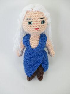 Game of Thrones Daenerys Targaryen Crochet Doll by MumMadeDolls