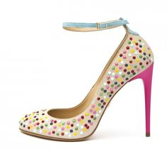 Cute as a button.    Daiquiri Candy Studds - Suede/multicolor studs