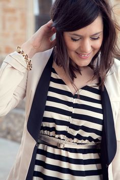 I absolutely love stripes for spring!  They are everywhere!