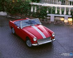 British Sports Cars, British Car, Vintage Racing, Vintage Cars, Mg Mgb, Austin Healey Sprite, Mg Midget, Cool Cars, Classic Cars