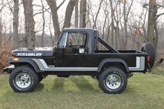 Bid for the chance to own a 1982 Jeep Scrambler at auction with Bring a Trailer, the home of the best vintage and classic cars online. Jeep Brute, Jeep Cj7, Jeep Wrangler, Cool Jeeps, Cool Trucks, Big Trucks, Jeep Pickup, Pickup Trucks, Scrambler Ride